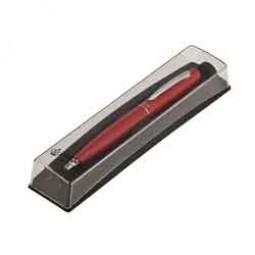 Шариковая ручка в подарочном футляре PB10, красный