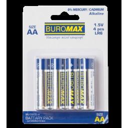 Элемент питания (батарейка) LR6 (AA) 4шт/упак