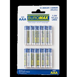 Элемент питания (батарейка) LR03 (AAА) 12шт/упак