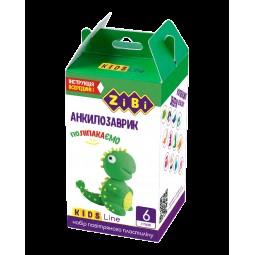 Набор воздушного пластилина для лепки АНКИЛОЗАВРИК