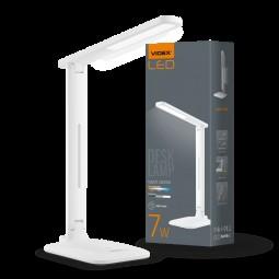 Світильник настiльний LED, VL-TF02W, 7W, 3000-5500K, 220V, VIDEX
