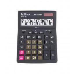Калькулятор Brilliant BS-8888BK, 12 разрядов