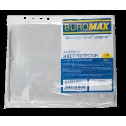 Файл для документів, JOBMAX, А4+, 30мкм, 100шт. в упаковці