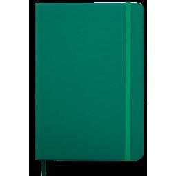 Ежедневник недатированный TOUCH ME, L2U, A5, зеленый, иск.кожа