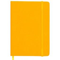 Ежедневник недатированный TOUCH ME, L2U, А5, желтый, иск.кожа