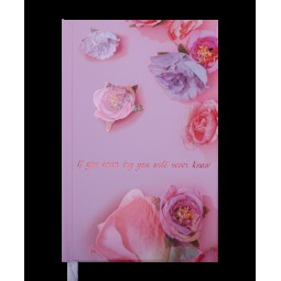 Щоденник недат. SPOLETO, A6, рожевий