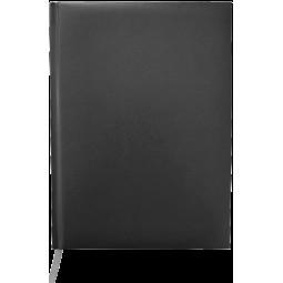 Ежедневник недатированный MASTER, A5, клетка, черный