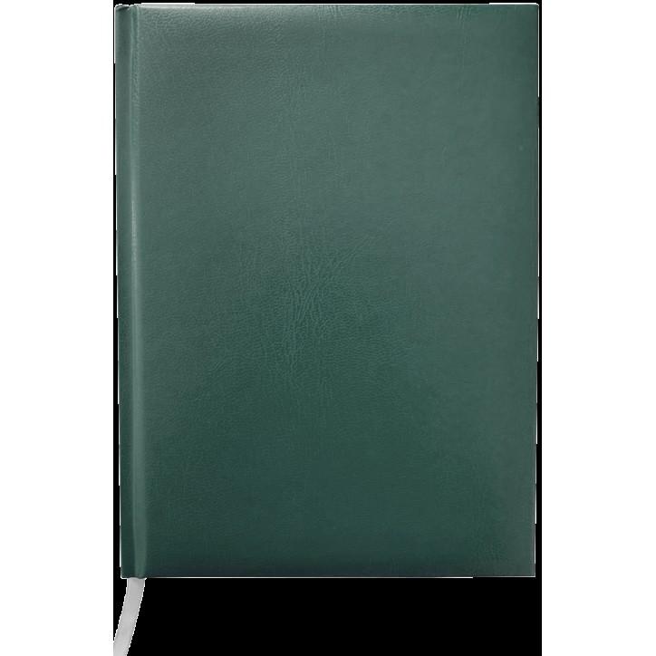 Ежедневник недатированный MASTER, A5, клетка, зеленый