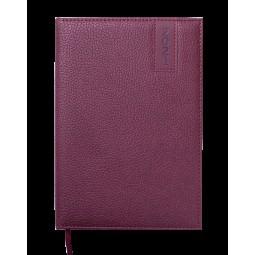 Ежедневник датир.2021 VERTICAL, L2U, A5, коричневый, иск.кожа/поролон