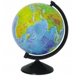 Глобус физический без подсветки 260 мм (4820114952776)