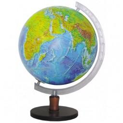 Глобус физический без подсветки 320 мм на деревянной подставке (4820114952615)