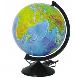 Глобус физический с подсветкой 260 мм (4820114952769)