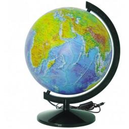 Глобус физический с подсветкой 320 мм (4820114952691)