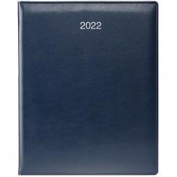 Еженедельник датированный BRUNNEN Бюро 2022 Soft ср/т синий