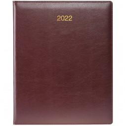 Еженедельник датированный BRUNNEN Бюро 2022 Soft з/т бордовы